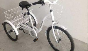Triciclo 18v Agece aluminio Freno disco