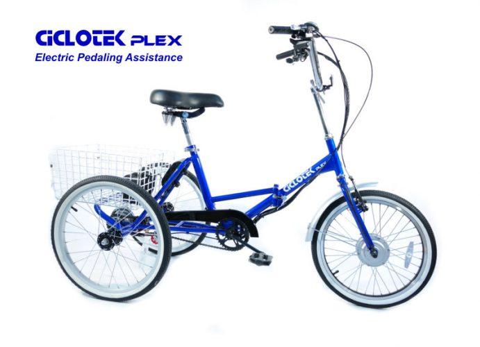 Triciclo electrico cicloteck