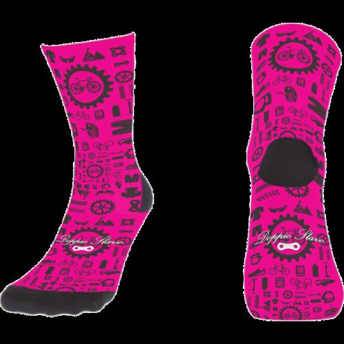 calcetin-doppio-piezas-bici-rosa