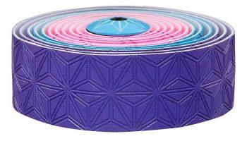 Cinta de manillar Supacaz multicolor rosa/azul