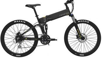 Bicicleta Electrica Legent Etna, doble suspensión