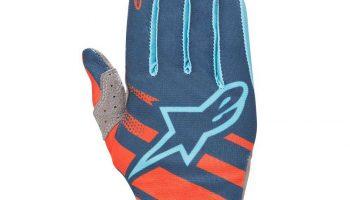 Guantes Alpinestars Racer naranja/azul