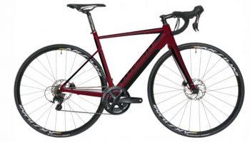 Bicicleta Electrica Carretera Wistle Flow Rojo