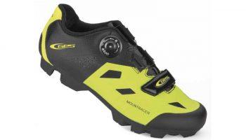Zapatilla Ges MTB Mountracer negra/amarilla